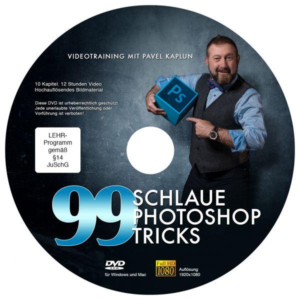 99 schlaue Photoshop-Tricks - DVD Download