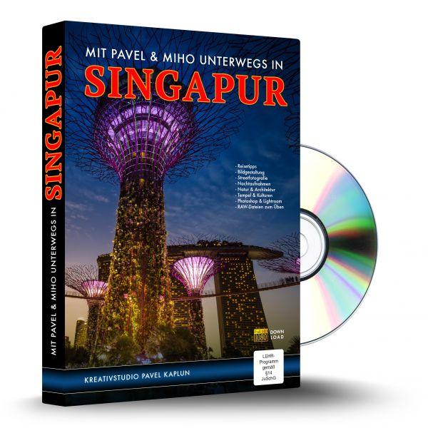 Unterwegs mit Pavel und Miho in Singapur