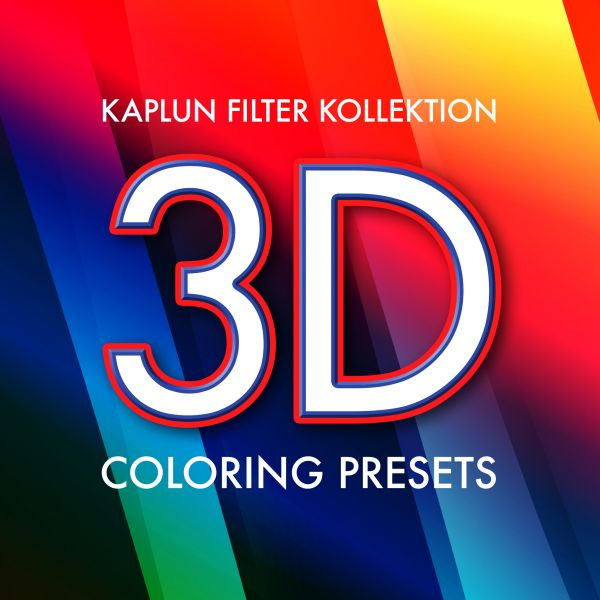 Kaplun Filter Kollektion: 3D Coloring Presets