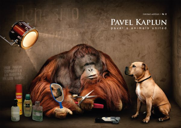Pavel Kaplun Limited Edition Nr. 2. Pavel´s Animals United!