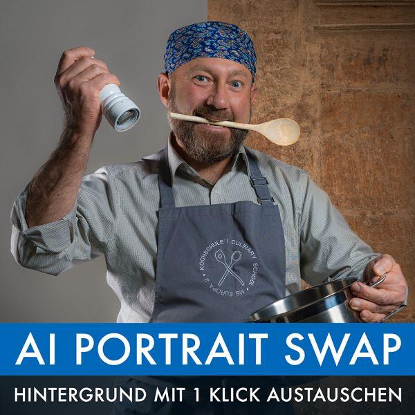 Kaplun Filter Kollektion: AI Portrait Swap