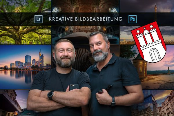 Kreative Bildbearbeitung in LR und PS - Hamburg - 28,7.19
