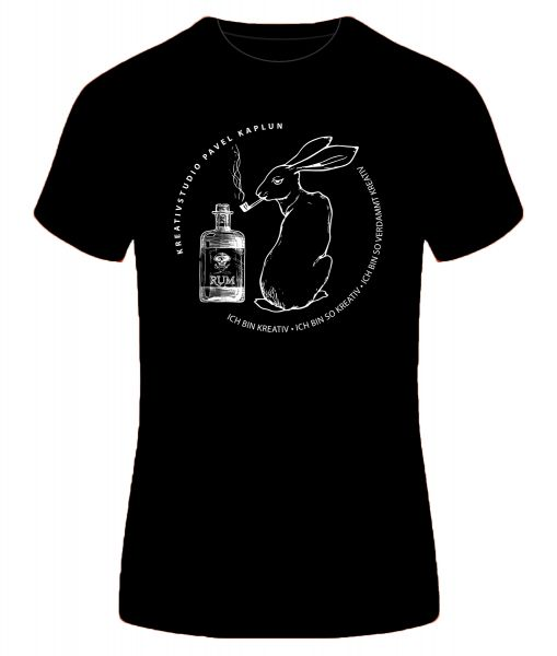 Künstler-Shirt (Frau) | TIERLE-RUM-PFEIFE