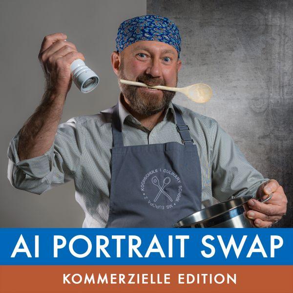 KOMMERZIELLE EDITION: Kaplun Filter Kollektion: AI Portrait Swap