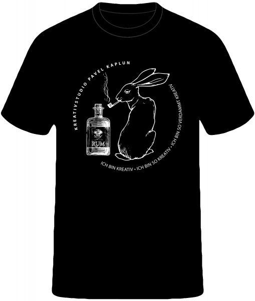 Künstler-Shirt (Mann) | RUM-PFEIFE-TIERLE