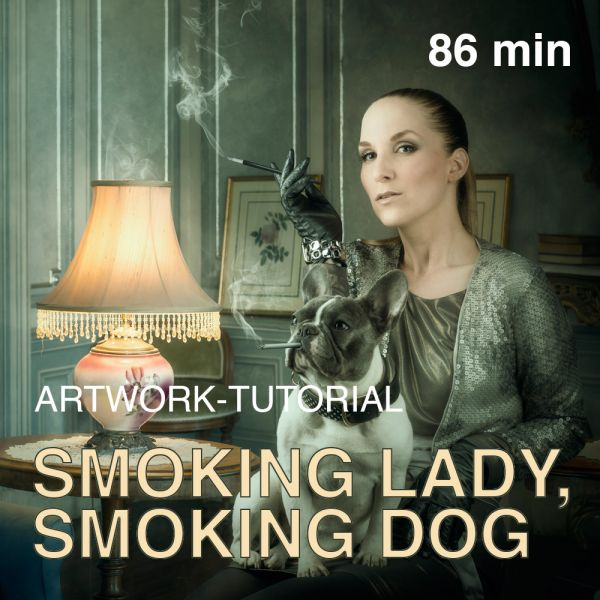 Artwork Tutorial: Smoking Lady, Smoking Dog