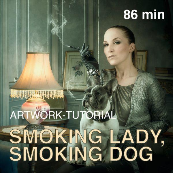 Artwork Tutorial: Smoking Lady, Smoking Dog