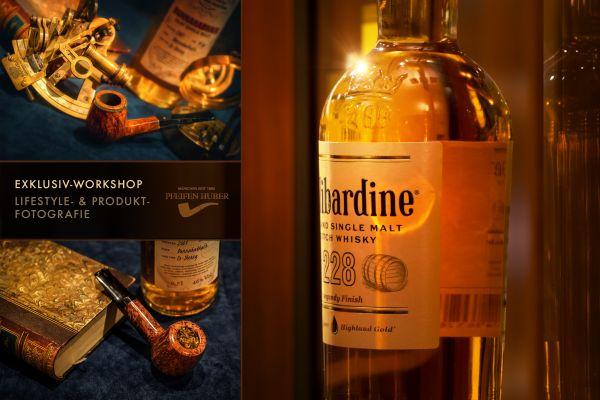 Exklusiver Produkt- & Lifestyle-Fotografie Workshop mit Whisky-Tasting - 13.11.20