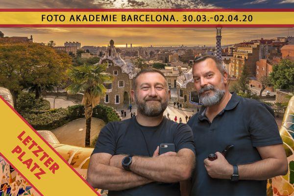 Foto Akademie Barcelona - 30.03.-02.04.20