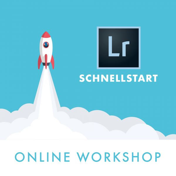 Online Workshop: Lightroom Schnellstart (2 x 2h) - 22./23.03.