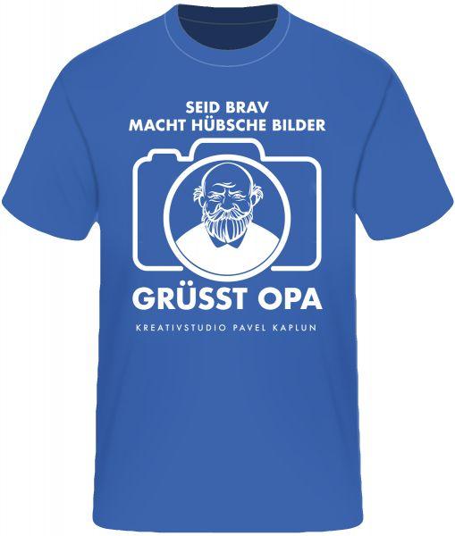 Künstler-Shirt (Mann) | GRÜSST OPA