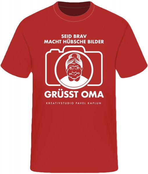Künstler-Shirt (Mann) | GRÜSST OMA