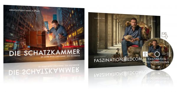 """Buchbundle 2: """"Die Schatzkammer - 20 Jahre Bildcomposing"""" + Faszination Bildcomposing (DVD/Download"""