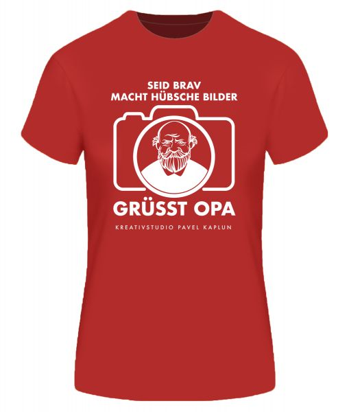 Künstler-Shirt (Frau) | GRÜSST OPA