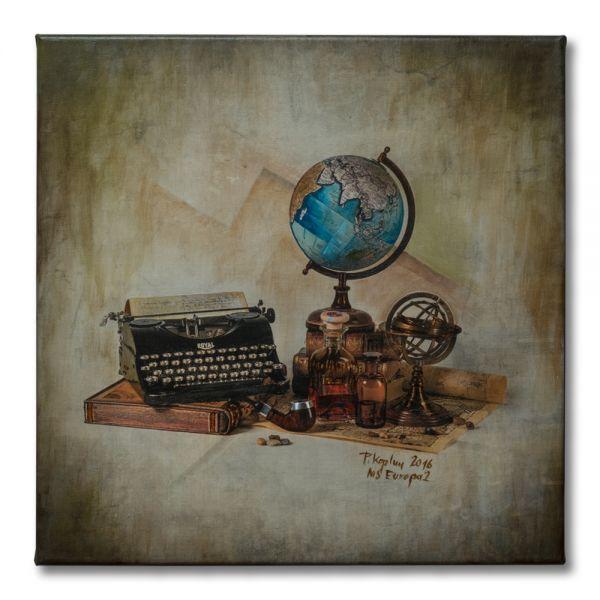 UNIKAT: Stilleben mit Schreibmaschine