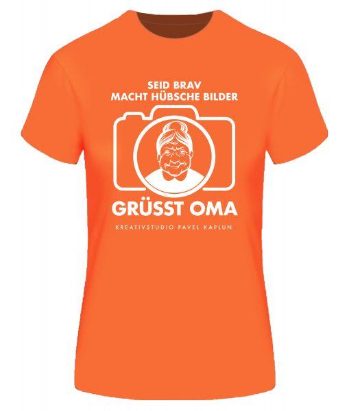 Künstler-Shirt (Frau) | GRÜSST OMA