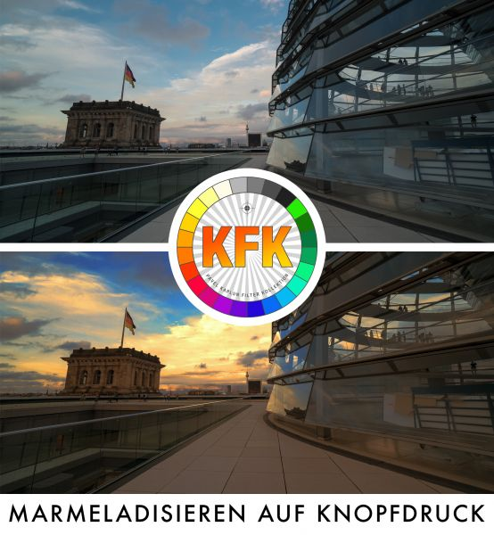 Kaplun Filter Kollektion: Marmeladisierungs Aktionen (Natur & Architektur)