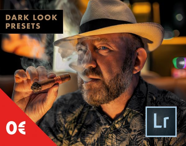 GRATIS: 3 Dark Look Lightroom Presets