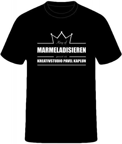 Künstler-Shirt (Mann) | KING OF MARMELADISIEREN