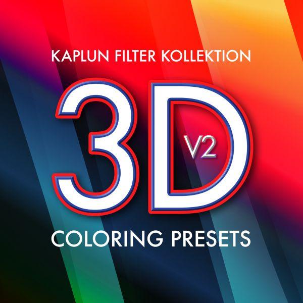 Kaplun Filter Kollektion: 3D Coloring Presets V2