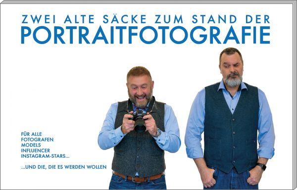 Zwei alte Säcke zum Stand der Portraitfotografie