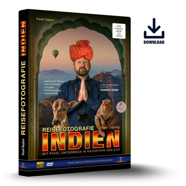 Reisefotografie Indien - Download