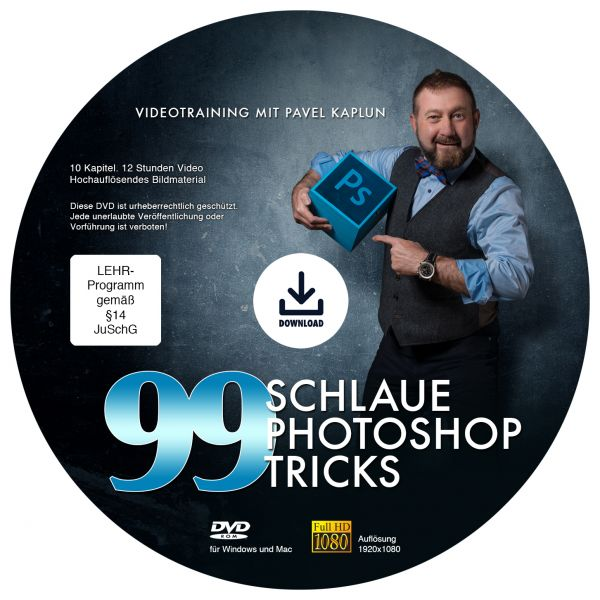 99 schlaue Photoshop-Tricks - DVD Download