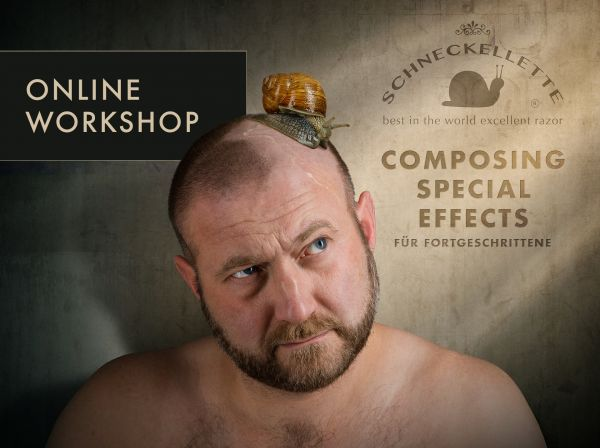 Online Workshop: Composing Special Effects (2 x 3h) - 9./10.3.21
