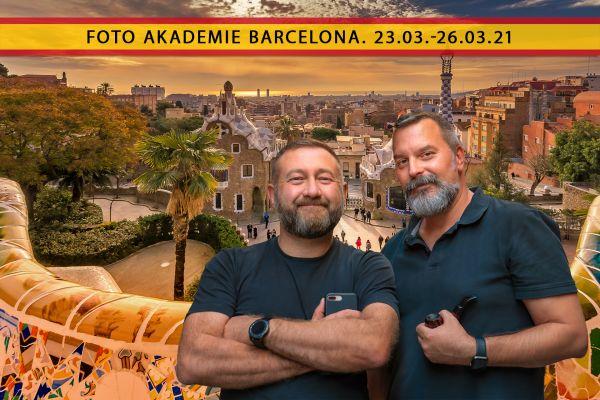 Foto Akademie Barcelona - 21. - 25.03.22